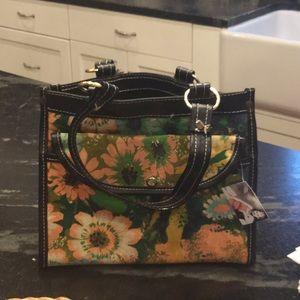 Handbags - Vintage floral handbag